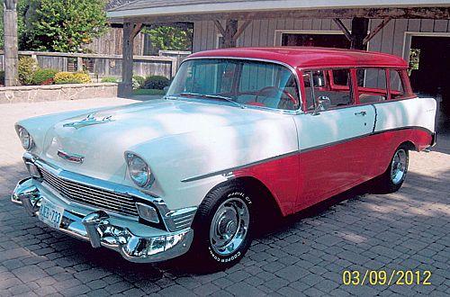 1956 Chevrolet Deluxe 210 Handyman