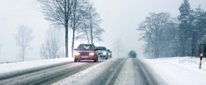 Car during Winter